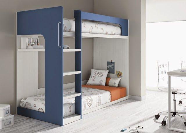 Como tener ventaja de los espacios pequenos con los ninos for Literas para cuartos pequenos