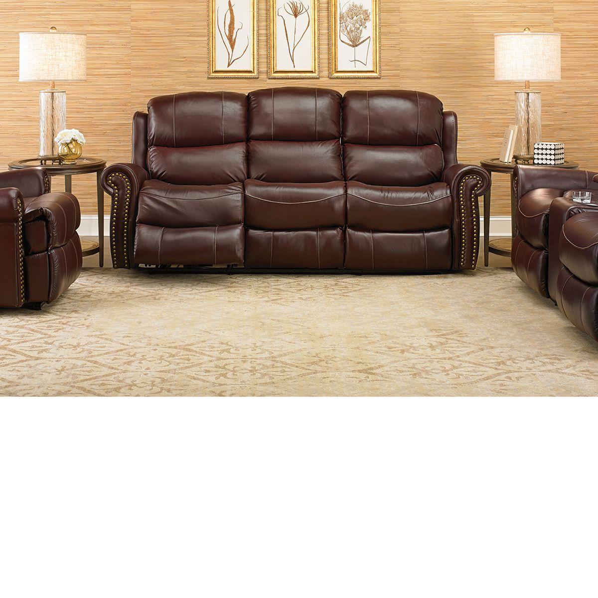 The Dump Furniture Dual Okin Power Reclining Sofa Love