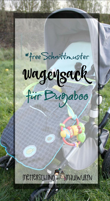 Winter Wagensack - kostenloses Schnittmuster / wandelbar   Bugaboo