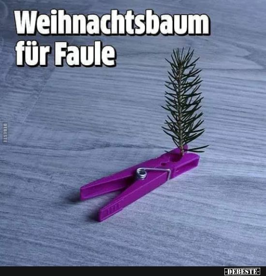 Photo of Christmas tree for lazy .. | Funny pictures, sayings, jokes, really funny