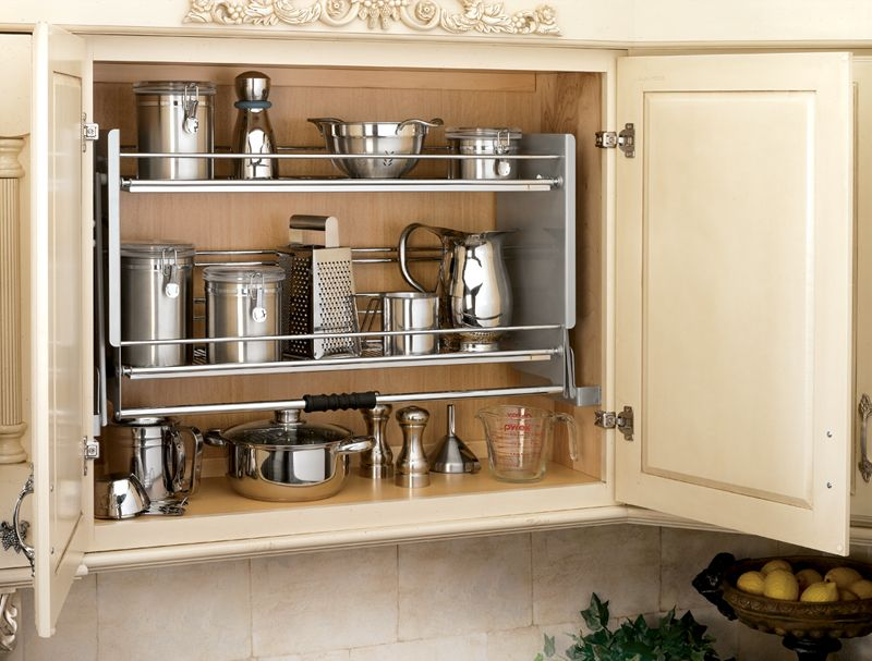 Rev A Shelf Accessible Pull Down Shelving For 36 Wall Cabinets Great For Short People And Those With Kitchen Wall Cabinets Pull Down Shelf Kitchen Pullout