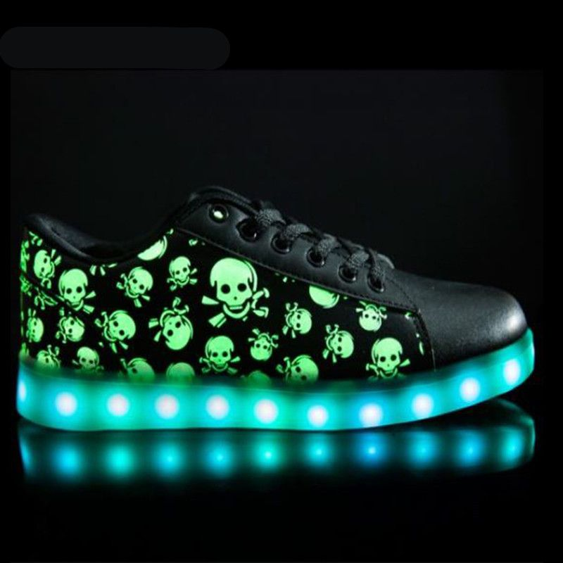 2172420489 Aliexpress.com   Buy Low Top LED shoes APP controflat Unisex Luminous Light  Up tenis led Shoes men Leisure Casual Sneakers Unisex Hot Fashion Shoes  from ...