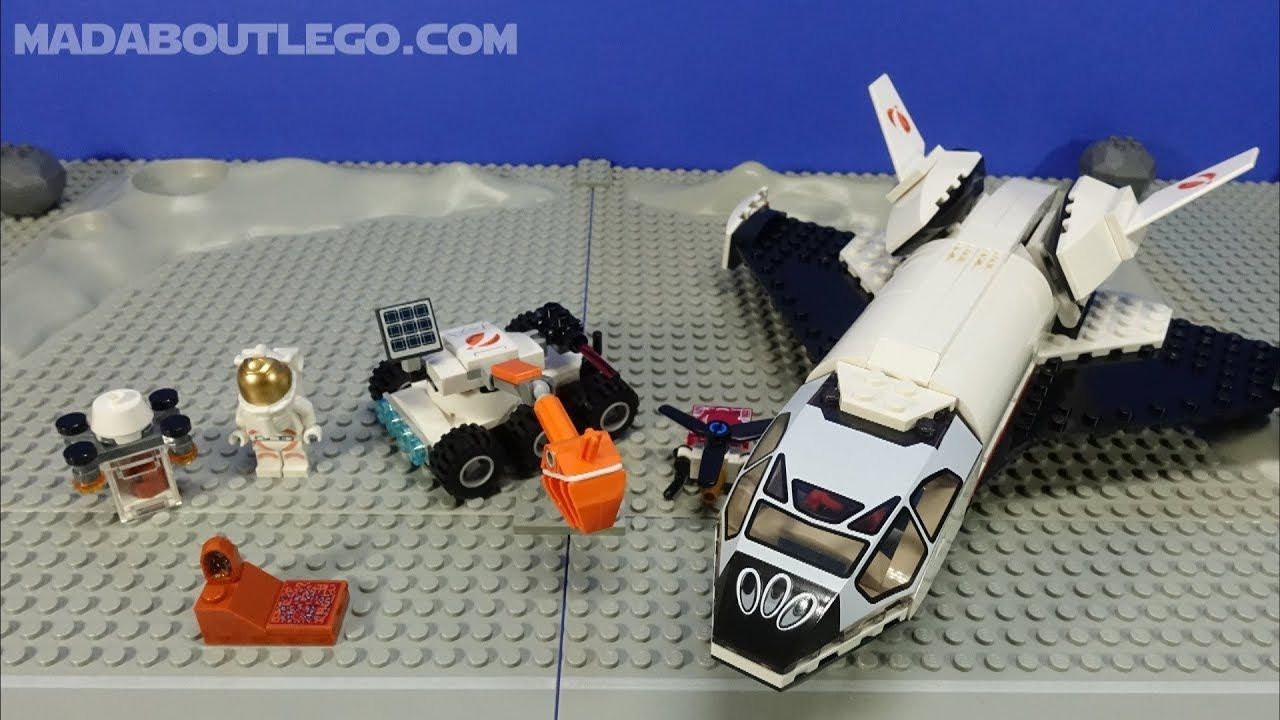 Lego City Space Mars Research Shuttle 60226 In 2020 Lego City Space Lego City Sets Lego City