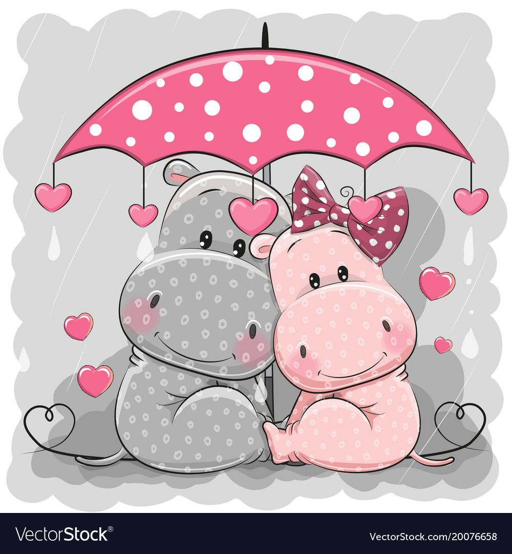 Hippo Cute Google Search Cute Cartoon Animals Animal Logo Hippo