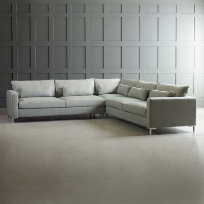 Best Klaussner Furniture Spencer Symmetrical Sectional Body 400 x 300