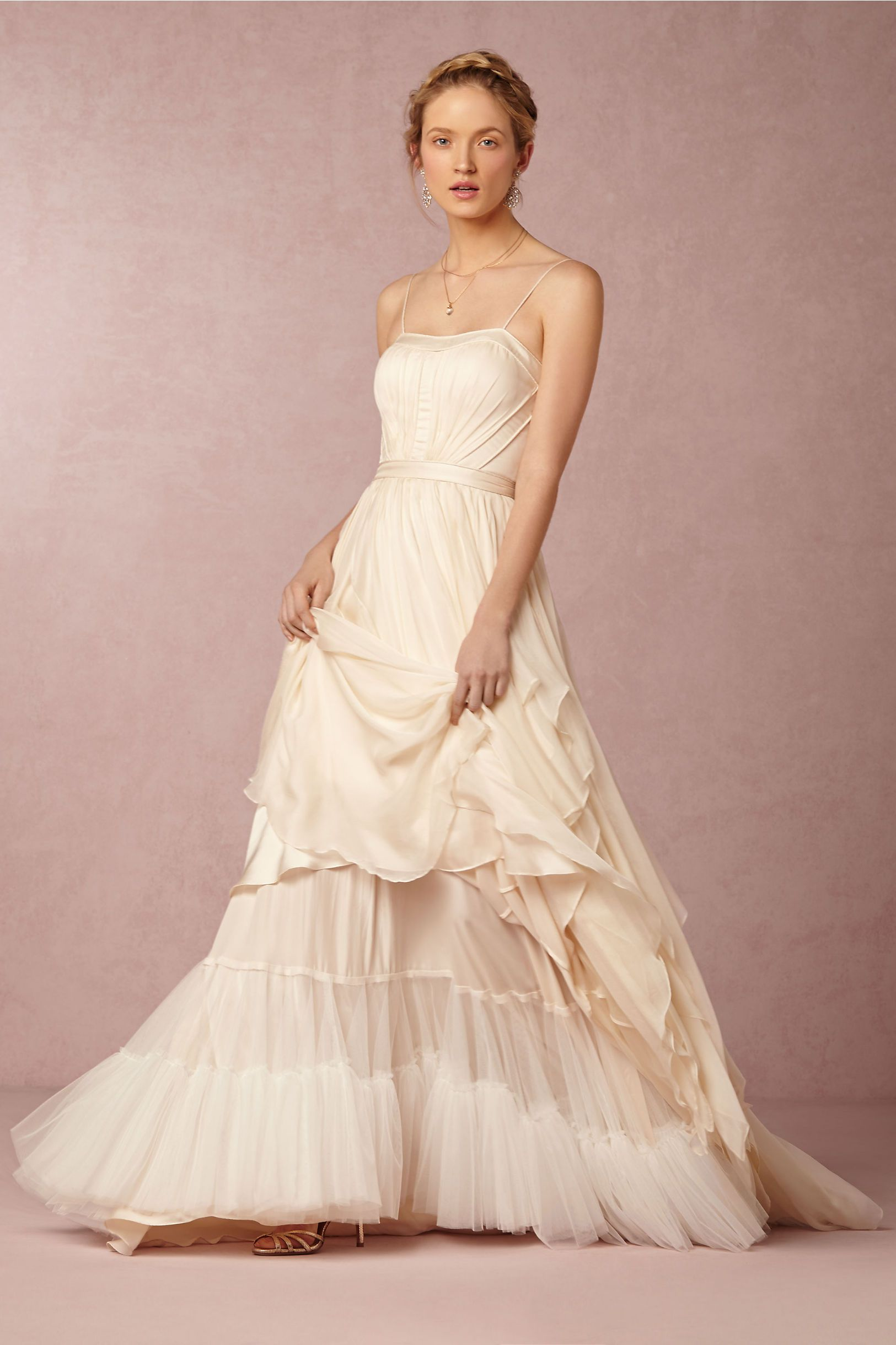 Cascada Gown and Cascada Petticoat in Bride Wedding Dresses at BHLDN ...
