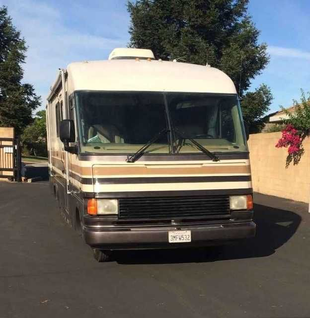 1992 Used Fleetwood Pace Arrow 37j Class A In California Ca Recreational Vehicle Rv 1992 Pace Arrow 37j 454 Chevro Fleetwood California Ca Fleetwood Bounder