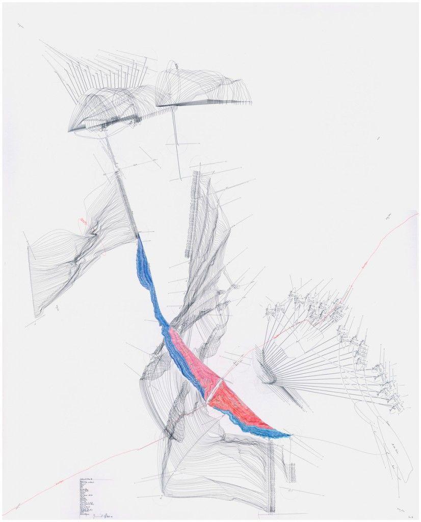 Interhorizontal Nexus V (Kiev V) Horizont; Mögliche Farben des Horizonts; Position; Himmelsrichtung; Melodie; Zäsur; Himmelsrichtung; Territorium; Zentrum; Konstruktion; Dekonstruktion; Position/ Zentrum – Identisch; Airport; N, S, W, O; All Other Directions; Boeing 747; Speed 0 km/h – max km/h; Duration of event: 1-24 Sek; Direction N; Direction of Movement; Repetition per day; Event/Position extern (alternierend) Externe Zentren; Rotation; Kontinentalgrenze; Jorinde Voigt Berlin 2010…