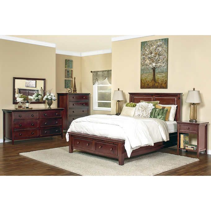 Verona 6Piece King Storage Bedroom Set  Fixer Upper  Pinterest Impressive Bedroom Sets With Storage Design Decoration