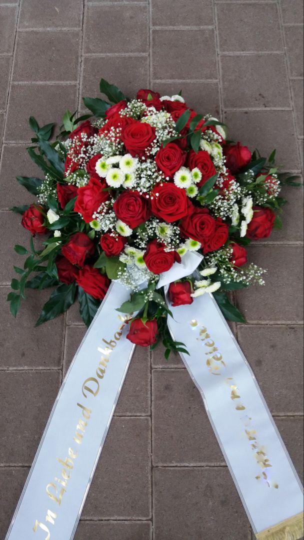 Blumengesteck zur Beerdigung