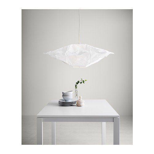 ikea lampenschirm varmluft 46cm (quadratisch, elfenbeinweiß ... - Wohnung Beige Ikea