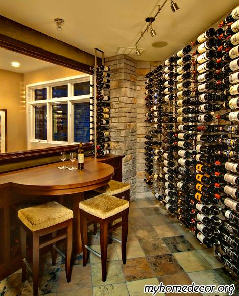 Contemporary Wine Cellar Design I Don T Know What I Like Better