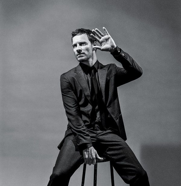 Michael Fassbender Photograph by Bruce Weber for New York Times Magazine