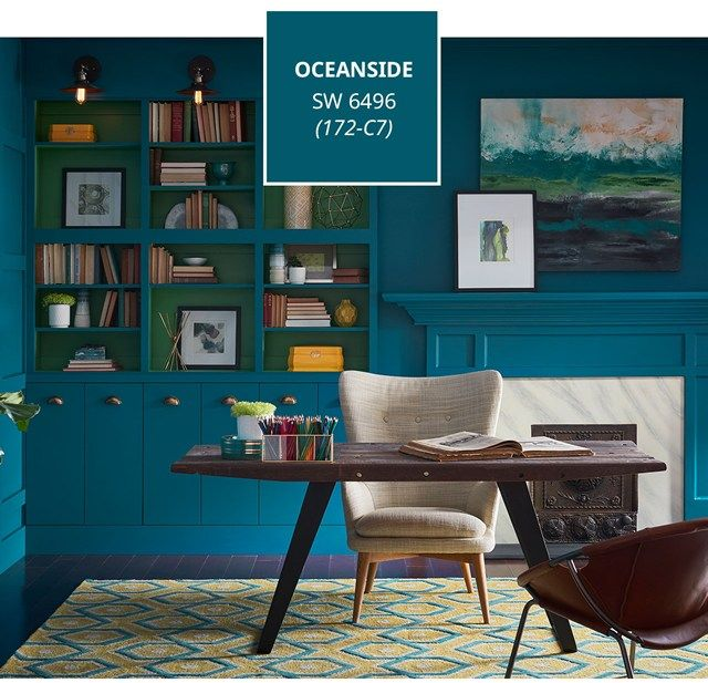 oceanside sherwin williams 2018 color of the year 2019 2018 2017 paint colors paint. Black Bedroom Furniture Sets. Home Design Ideas