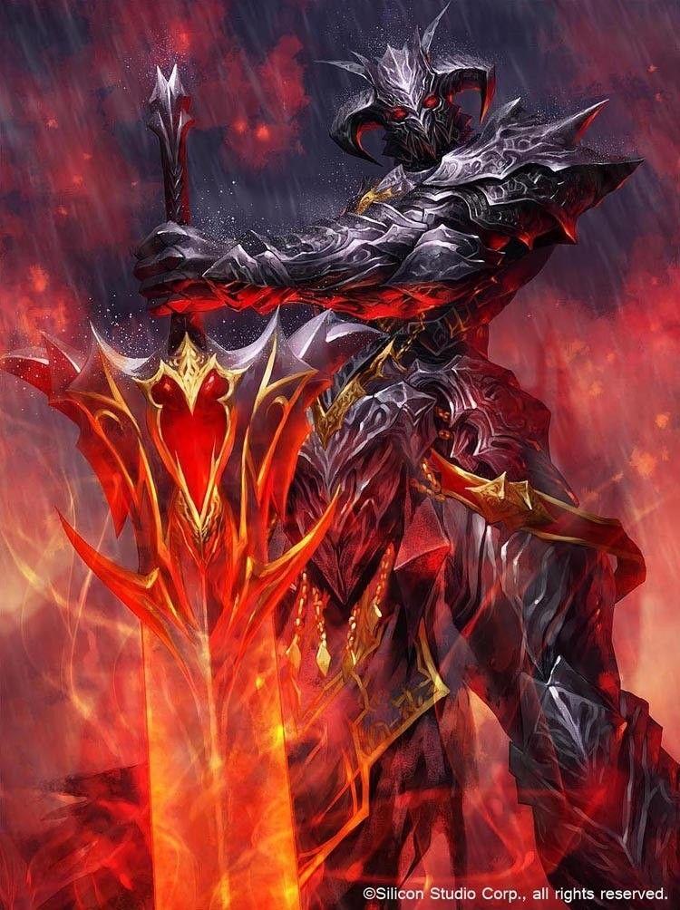 Demon Knight Rpg Pinterest Fantasy Art Art And Fantasy Warrior