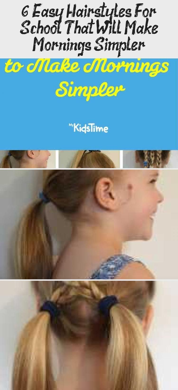 6 simple school hairstyles that make the morning easier – Pinokyo – 6 simple school hairstyles that make the morning easier … - Lombn Sites