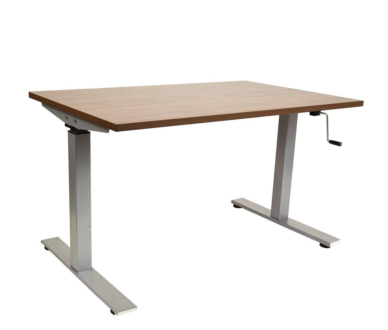 Table Avec Reglage A Manivelle Pltcrkb60nf Table Home Decor Folding Table