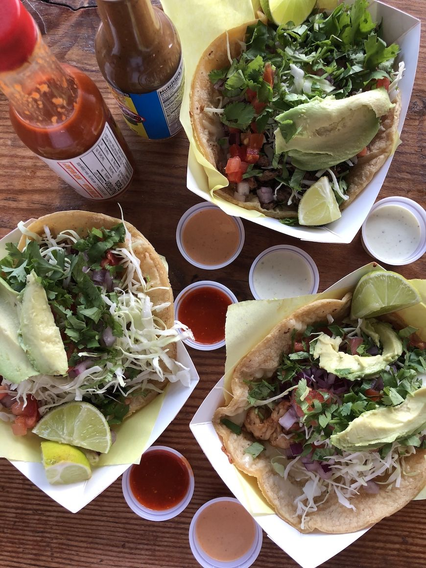 In Pacific Beach Fish Tacos At Oscars Los Angeles To San Diego