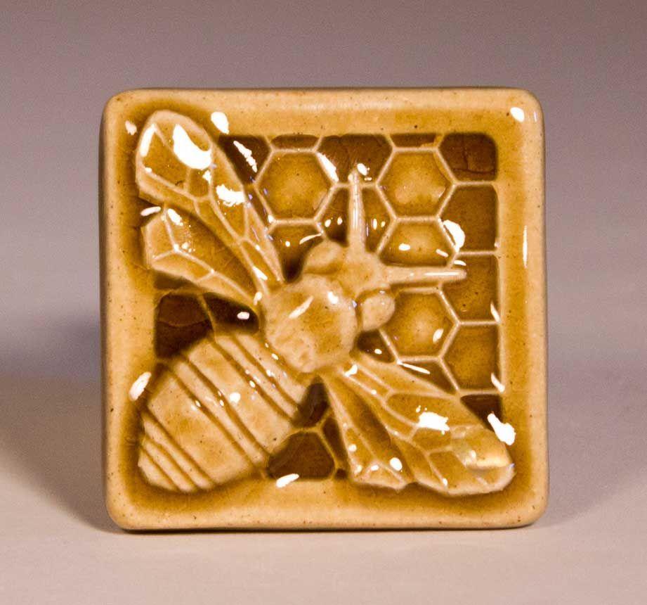 3x3 honey bee tile | honey bees | pinterest | honey bees, tile and