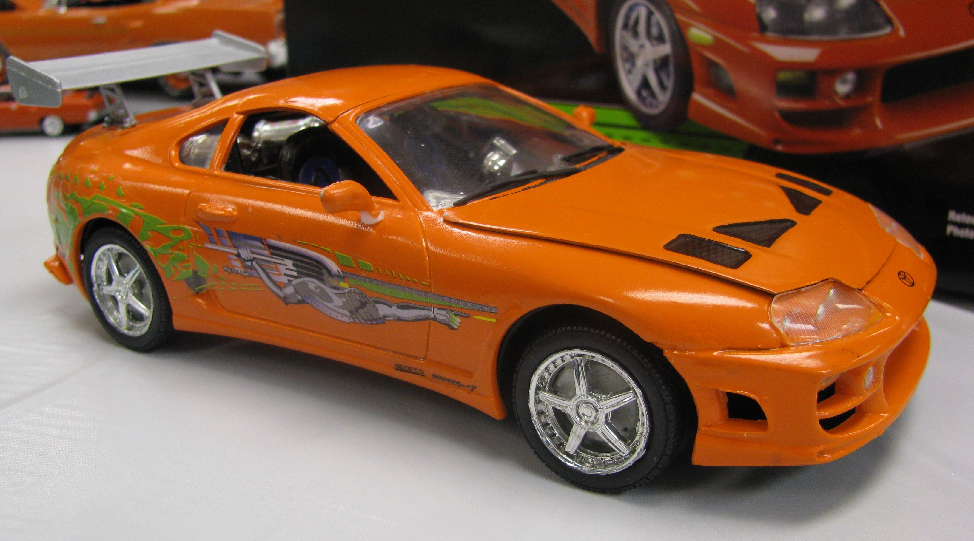 Cool Toyota Supra Gold HD Picture