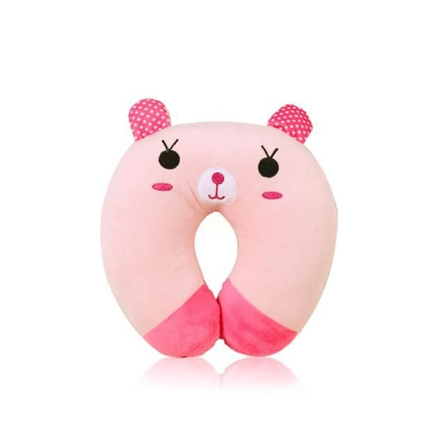 U-shaped Plush Pillow Travel Pillow in 2019 | Kids travel