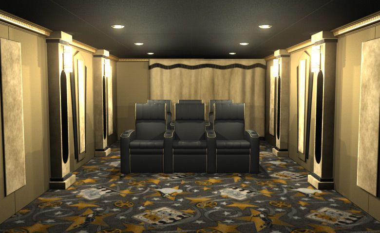 Home Theater Decor And Complete Theater Packages