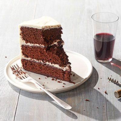 Delightful Red Wine Velvet Cake Recipe   Cake And Red Wine...sounds Like You