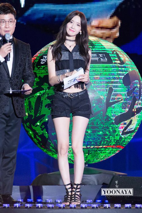 150814 YOONA SNSD - 2015 DMZ 평화콘서트/Peace Concert