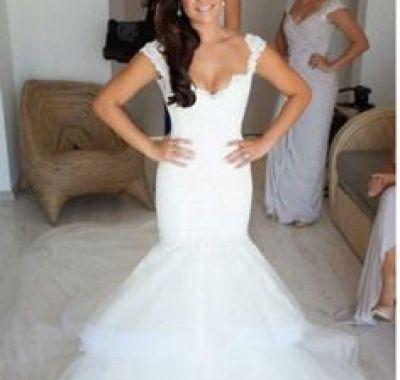 Wedding Hair Mermaid Dress
