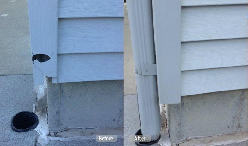 Vinyl Corner Post Repair Vinyl Siding Repair Siding Repair Vinyl Siding