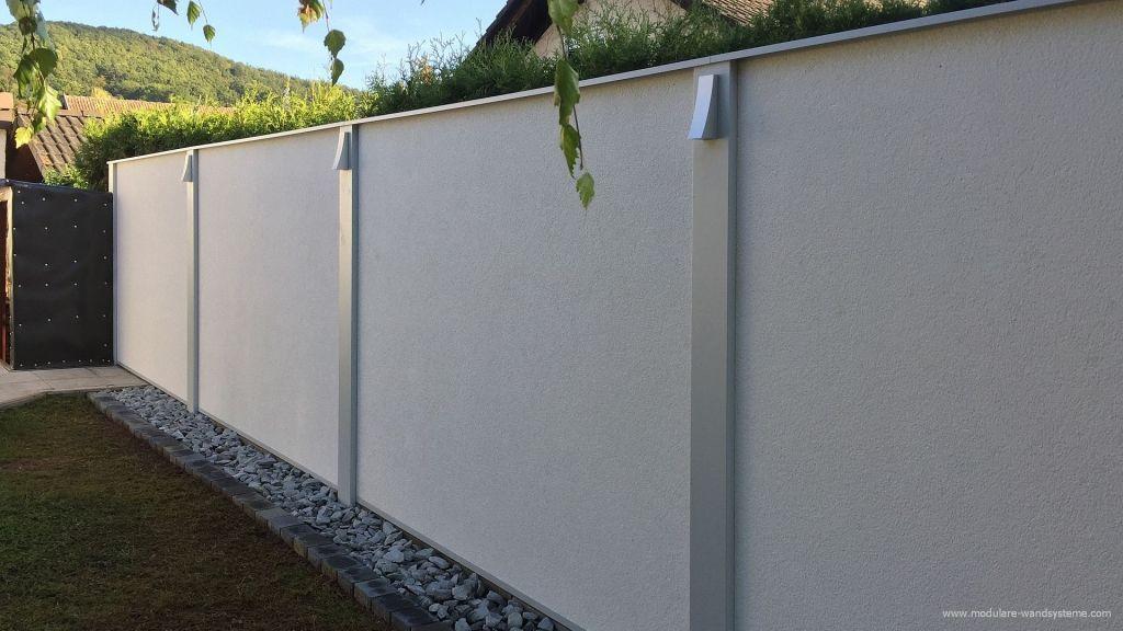 preisbeispiel modulare wandsysteme variante ii funktionaler sichtschutz l rmschutzmauer. Black Bedroom Furniture Sets. Home Design Ideas