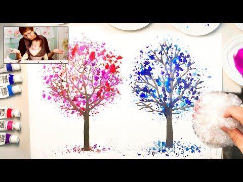 Dandelion Painting Techniques For Beginners Easy Creative Art Projects Youtube Kreativitet Kreative Ideer Og Kreativ