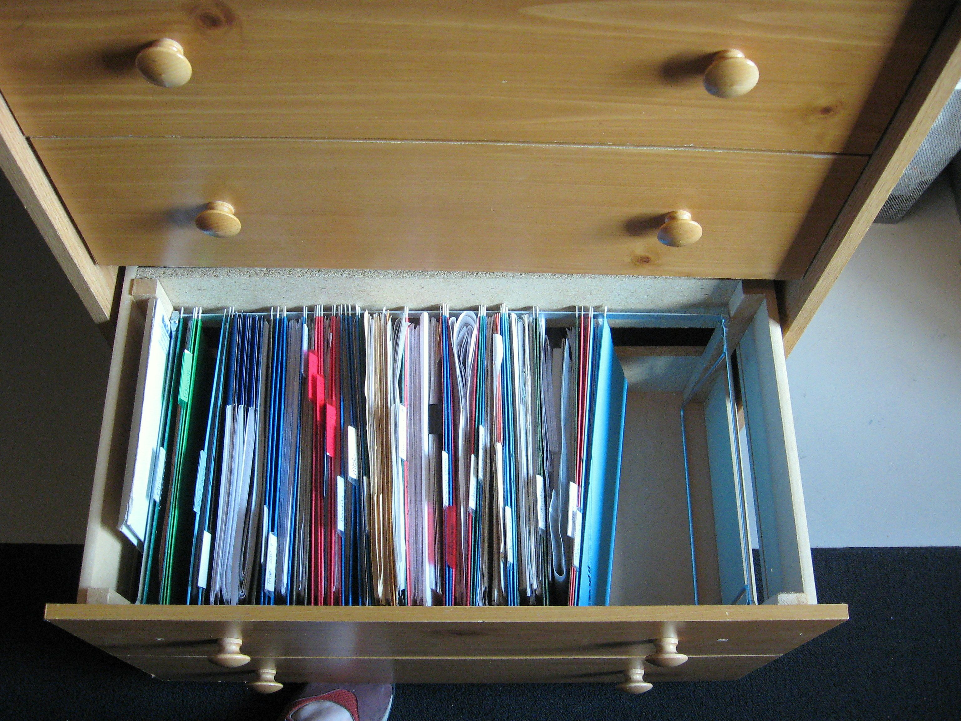 Converting Dresser Drawers To A Filing Drawer. Diy File Cabinet, Office File  Cabinets,