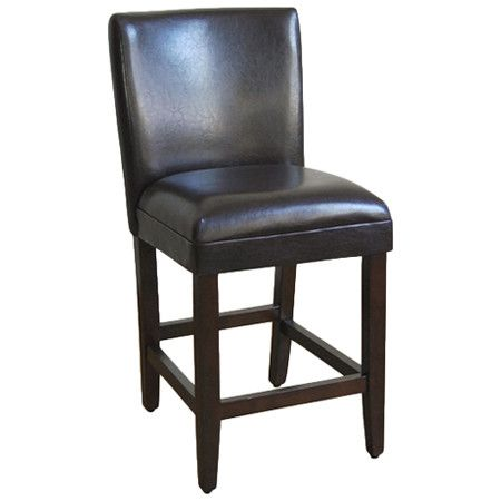 Awesome Found It At Wayfair Faux Leather Barstool In Brown Creativecarmelina Interior Chair Design Creativecarmelinacom