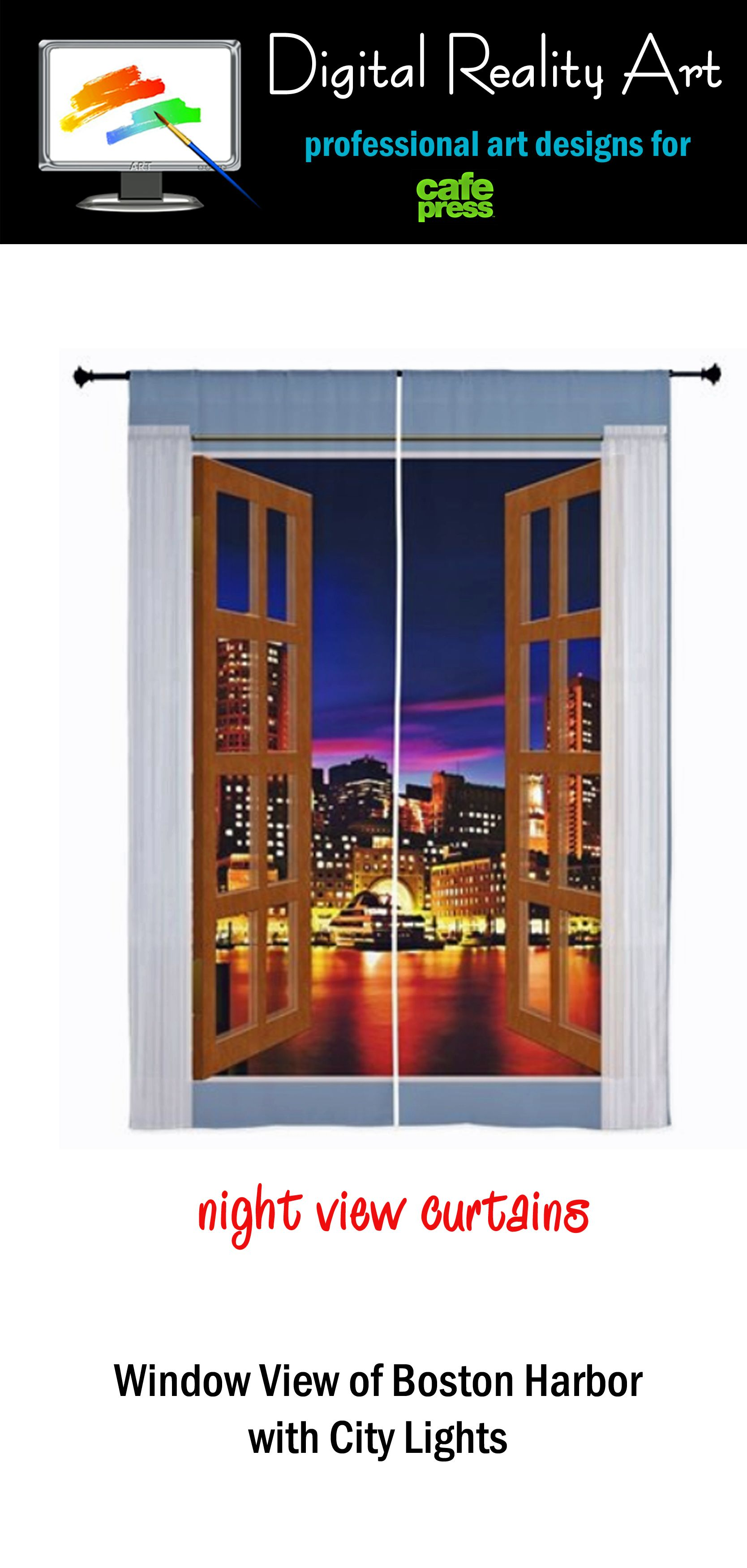 Got a room with no windows or a bad view? This series of curtains can give you access to exciting views around the world. Cities, nature, landscapes and more. Change your outlook on life.