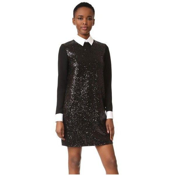 Victoria Victoria Beckham Long Sleeve Shift Dress 298570 Huf