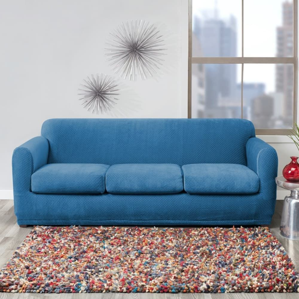 7 Sofa Covers To Give Your Couch A Second Life Slipcovered Sofa Slipcovers Best Sofa Covers