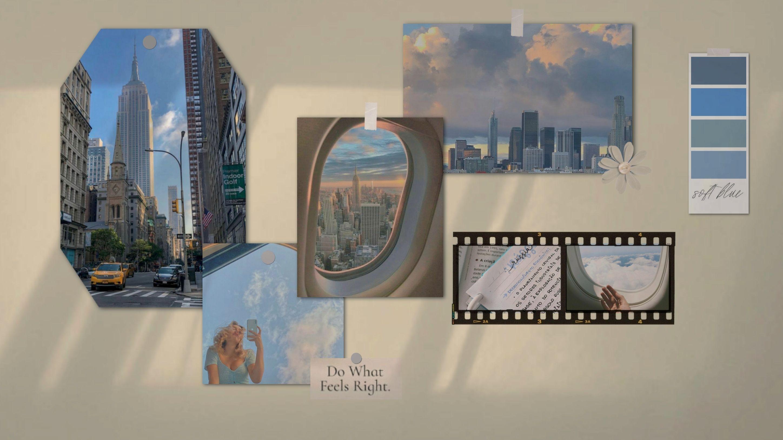Vision Board Desktop Wallpaper Wallpaper Aesthetic Desktop Wallpaper City Wallpaper
