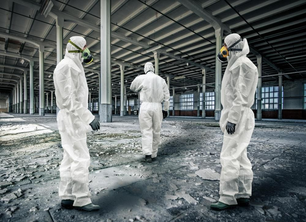 Asbestos is used in many building materials and it makes
