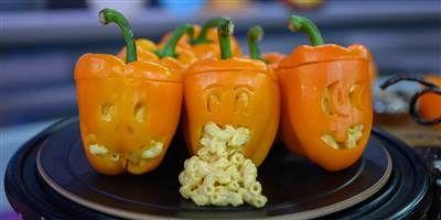 Hannah Hart's Mac-O'-Lanterns #bellpeppers