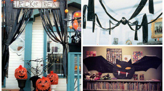 22 Creepy DIY Trash Bags Halloween Decorations Halloween - decorate halloween bags