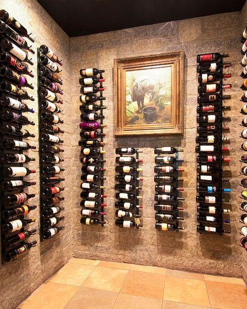 Drinkable Wall Art Wine Cellar Wall Wine Closet
