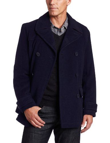 62e5ea768330 Pin by Watkins Vielka on Fashion to Buy | Mens navy peacoat, Mens ...