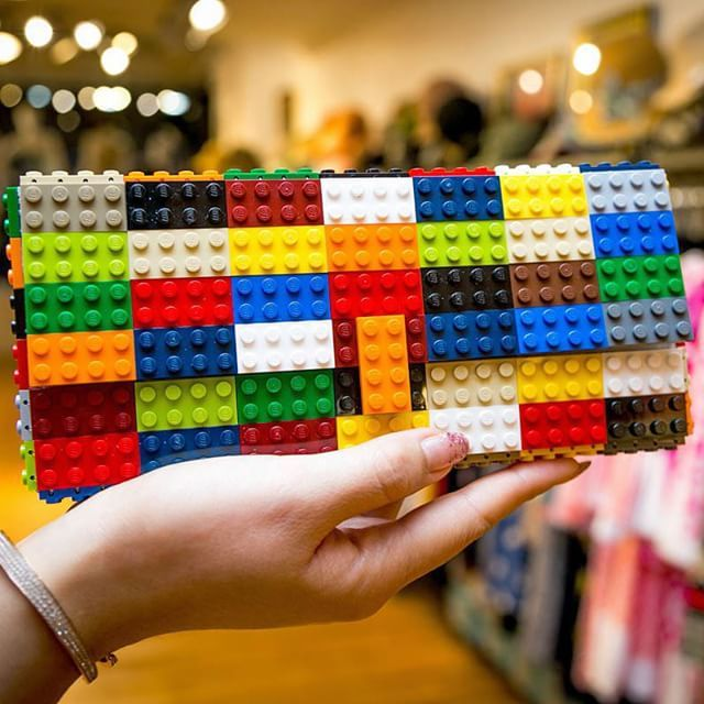 A fun summer purse made out of @Lego pieces by our friends at @agabag. Check out this and many more great fashion accessories at out Upper East Side flagship (223 E.60th Street) or our East Village boutique (309 E.9th Street)  #DejavuNYC#DejavuBoutique #InstaStyle #Fashion #DejavuBoutique #Couture #Dress #WomensFashion #AvantGarde #LifeImitatesArt #Beautiful #FashionxArt #Style #Elegance #Decadence #Decor #NYC #Lego #Agabag #LegoBag #Designer
