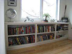 wholesale dealer 1fc42 2dcbf Image result for long low bookcase | Low bookcase ...