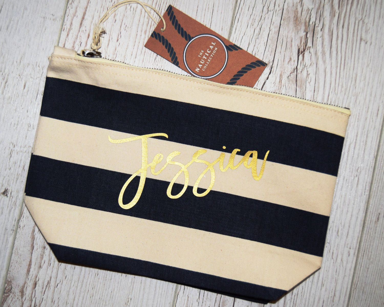Personalized Makeup Bag, Personalized Toiletry Bag