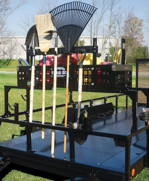 trailer mate pro tool rack garden tool