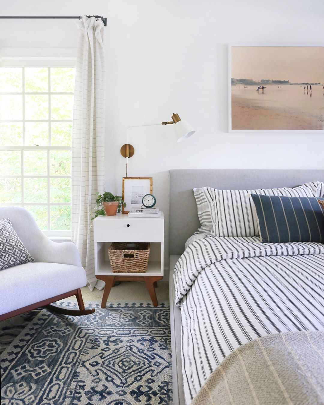 Erin Wheeler On Instagram Love Coastal Style And Want To Transform Your Suburban Bedroom Into A Calm An Home Decor Home Decor Styles Living Room Scandinavian
