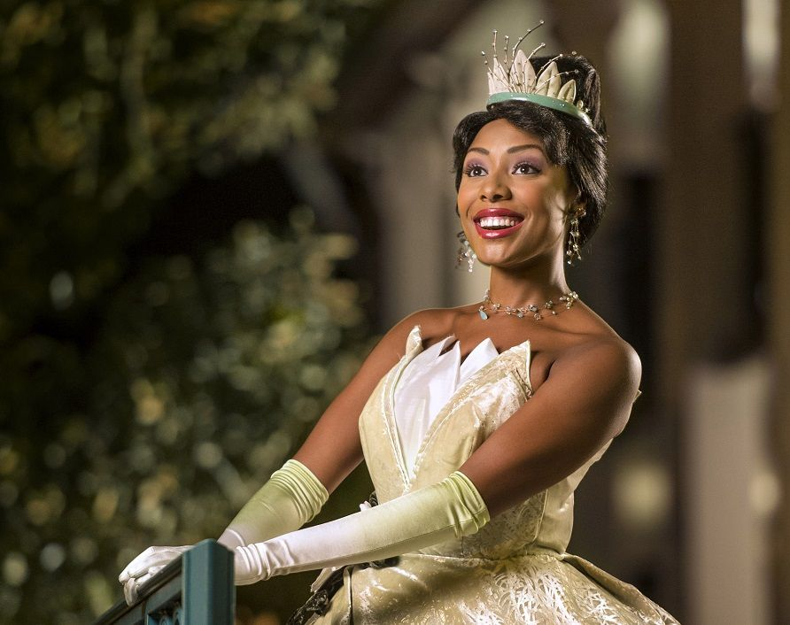 Princess Tiana at Walt Disney World