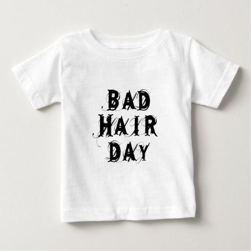 bad hair day, word art, text design T Shirt, Hoodie Sweatshirt